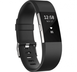 Fitbit charge 2 zwartzilver